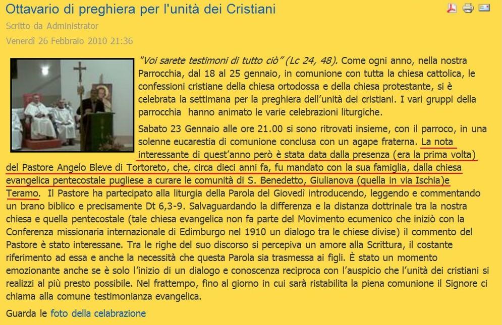 bleve-cattolici-romani