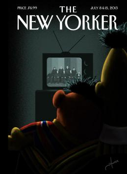 Bert-and-Ernie-cuddle-on-cover-of-next-weeks-New-Yorker