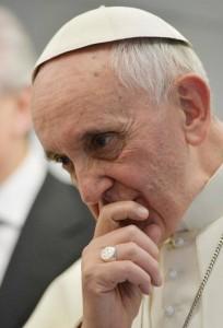 ++ Papa: sicurezza è fidarsi, c'e' rischio ma c'e' Dio ++