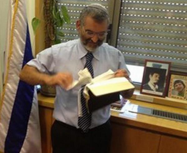 Michael-Ben-Ari-knesset-bibbia