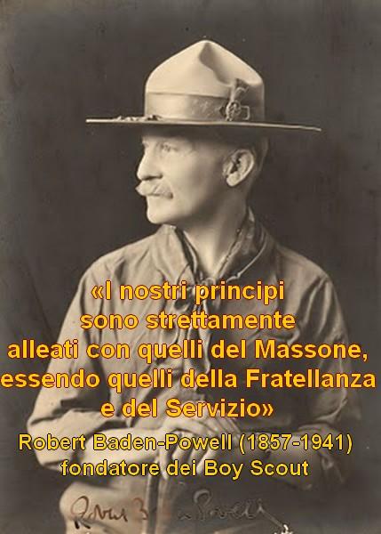 Robert Baden Powell Massoneria Chi Ha Orecchi Da Udire Oda