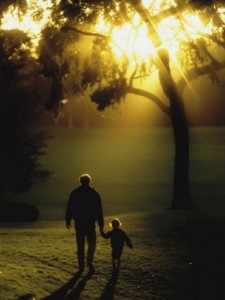 child-walking-with-father