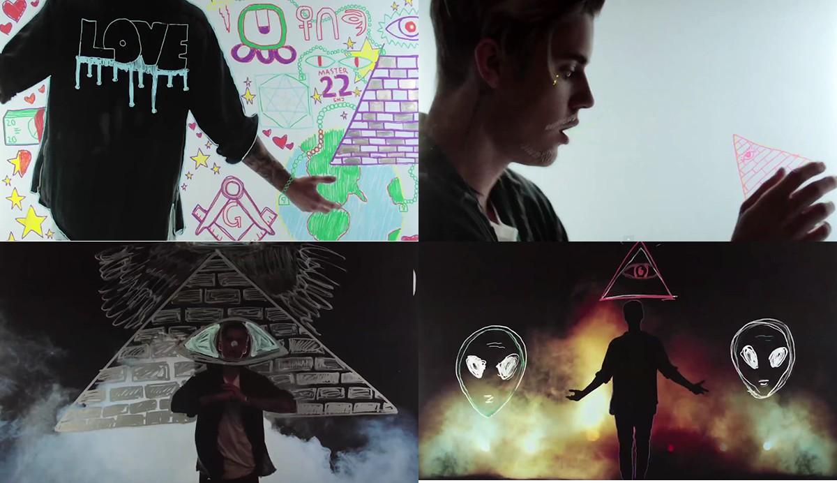 bieber-video-simboli