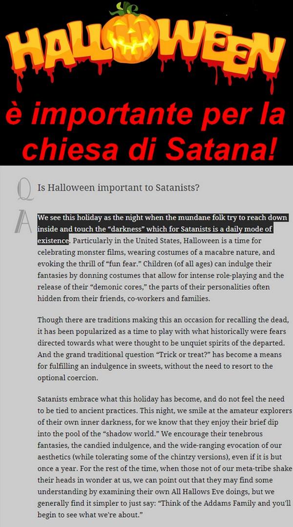 Halloween Chiesa.Halloween E Importante Per La Chiesa Di Satana Chi Ha Orecchi Da